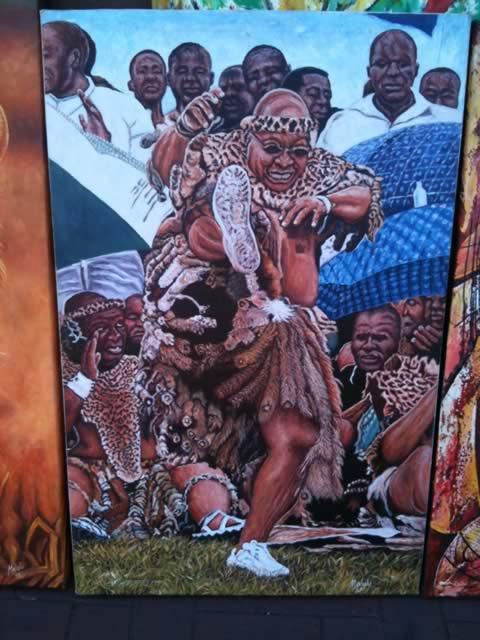 Jacob Zuma Dance Moves