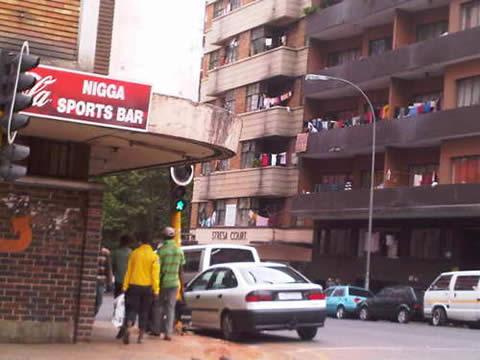 Nigga Sports Bar