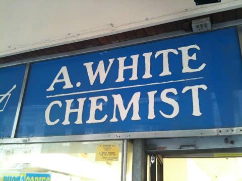 A White Chemist