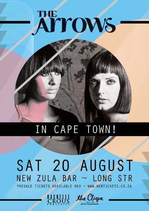 Freebie - The Arrows Live in Cape Town