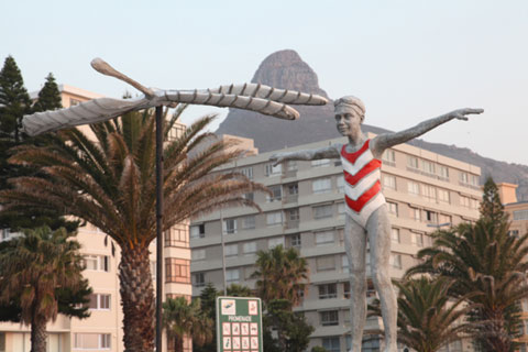 Walking the Road, Sea Point Art