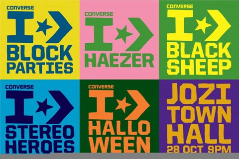 Freebie - Converse Halloween Block Party