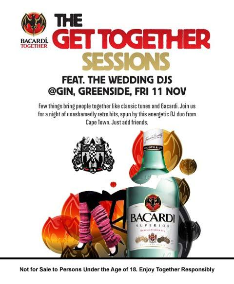 Freebie - Bacardi Get Together At Gin