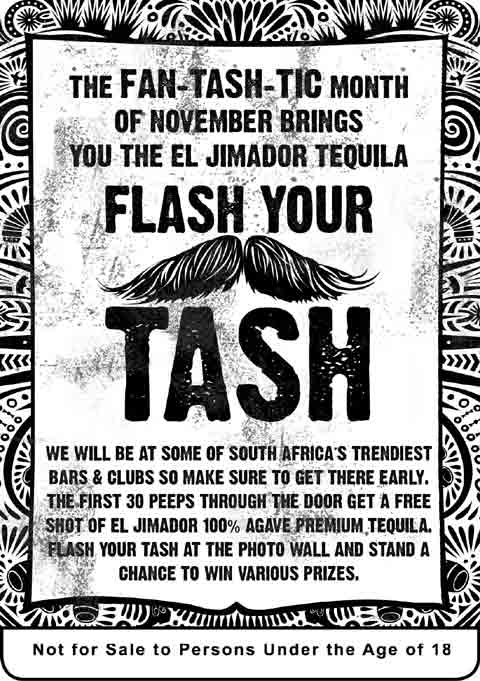 El Jimador - Flash Your Tash