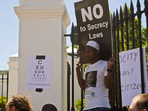 Black Tuesday - No to Secrecy Law