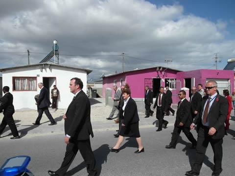 Prince Charles visits Khayelitsha