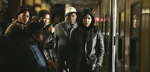 Tsotsi at Park Station