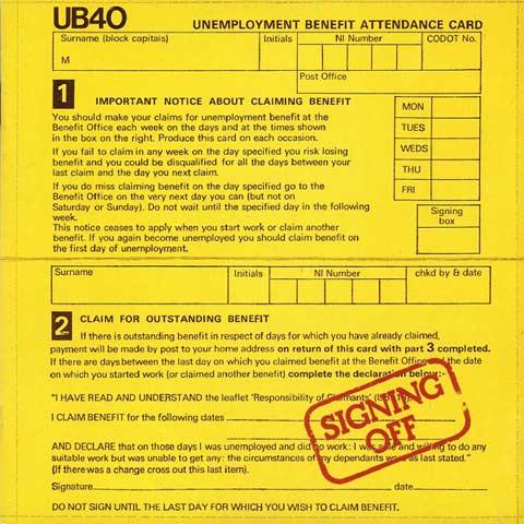 UB40 - Signing Off