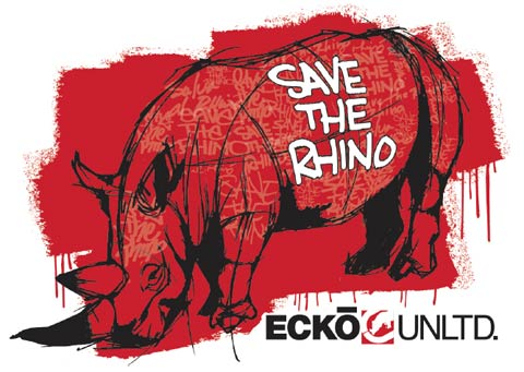 Freebie - Save The Rhino