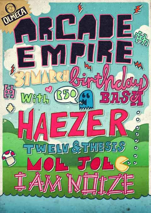 Freebie - Arcade Empire 1st Bday Party