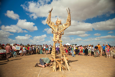 Last Sunday - Burning Man