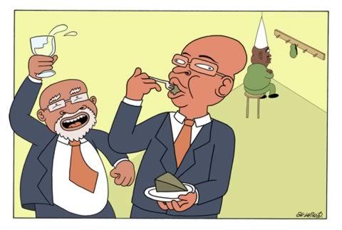 ANC cake controversy