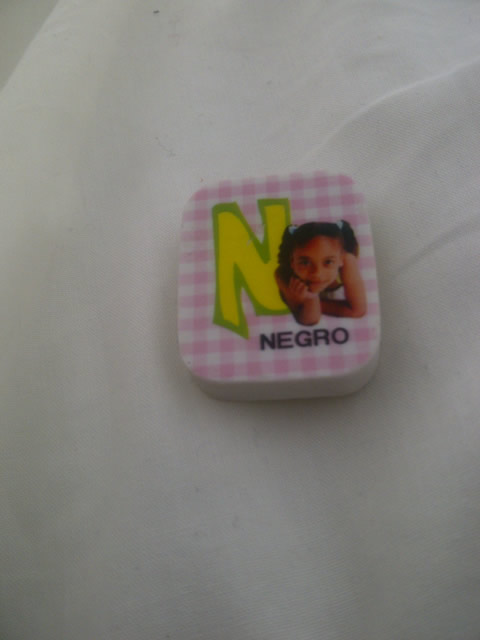N is for Negro