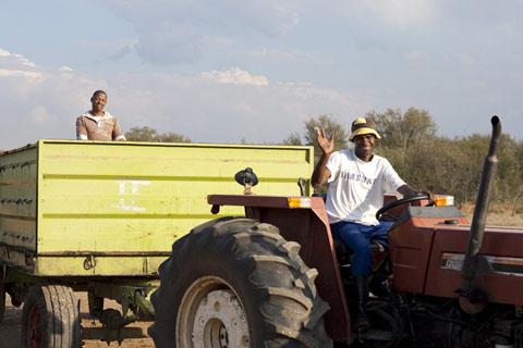 Kimberley - Tractor
