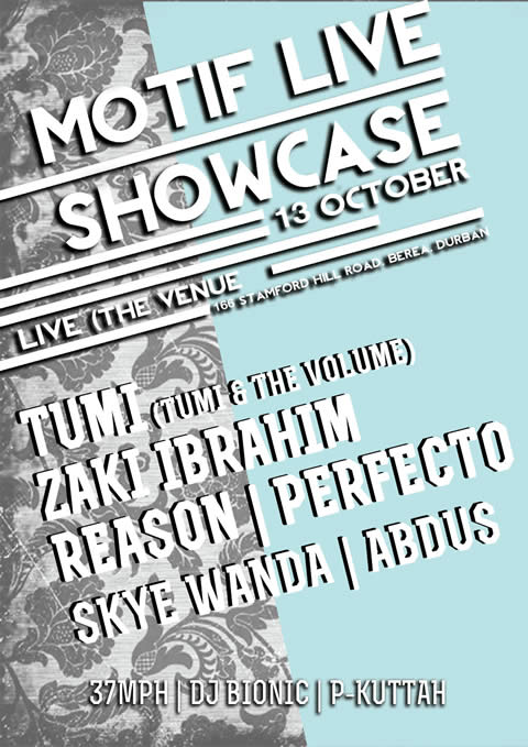 Motif Showcase Durbs