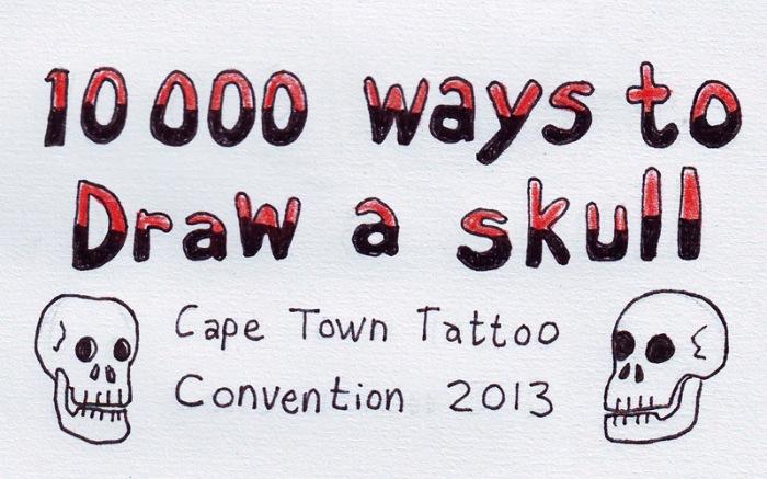 10000 Ways To Daw A Skull