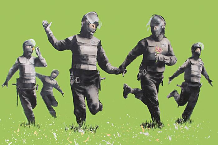 Police Running Riot