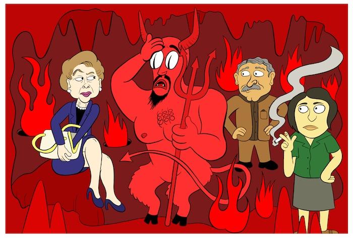 Handbagging the Devil