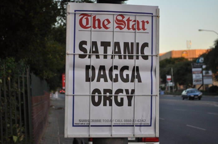 Satanic Dagga Orgy