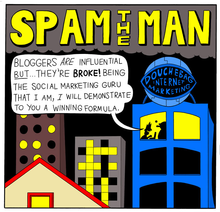 Spam the Man