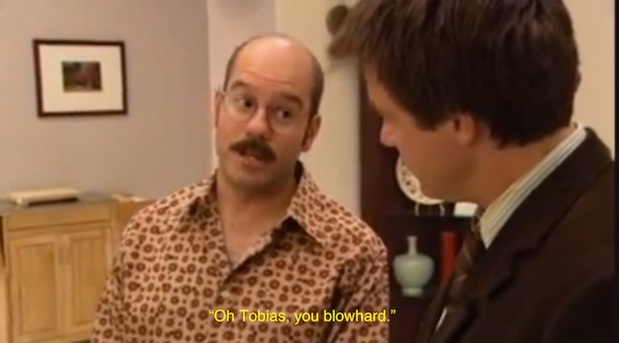 Tobias you blowhard