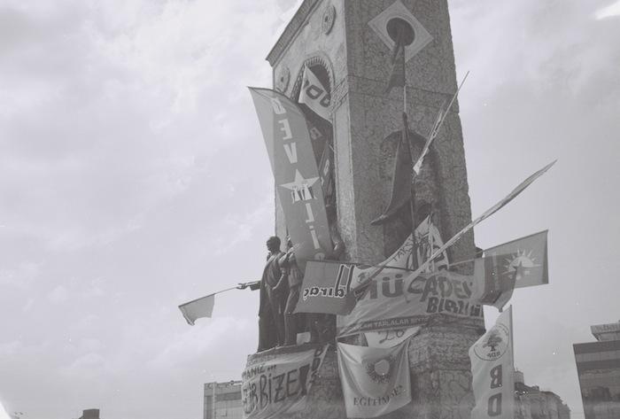 Statue in Taksim