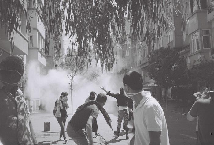 Gas in Taksim
