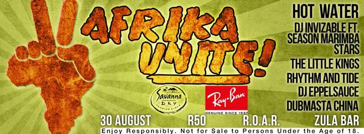 Africa Unite 30 Aug