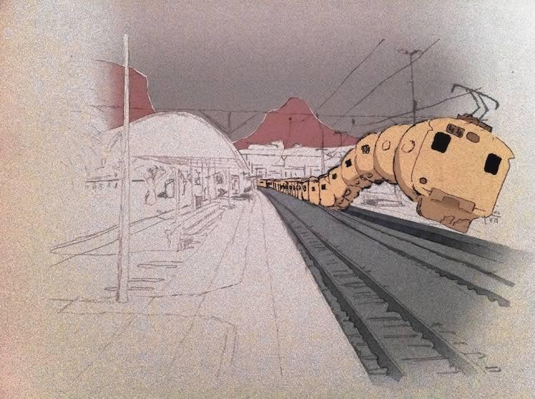On Trains