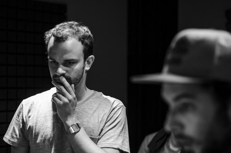 Shane in Studio