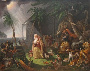 1280px-'Noah_and_His_Ark'_by_Charles_Willson_Peale,_1819