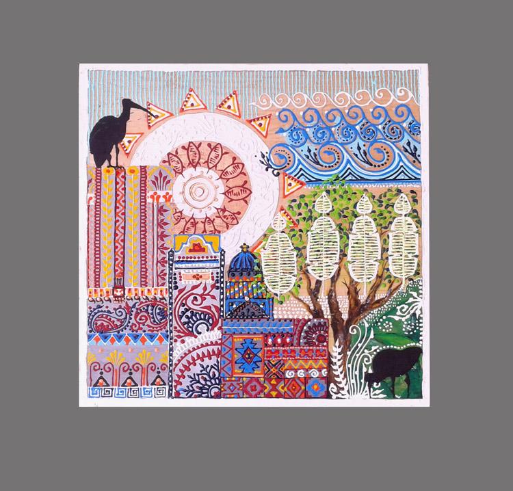 Second place Visual Art – Ghanisha Bucktowar