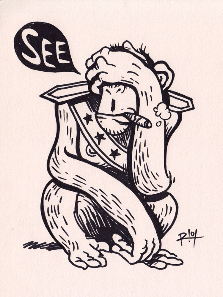 MUNKY-SEE-BY-R!OT