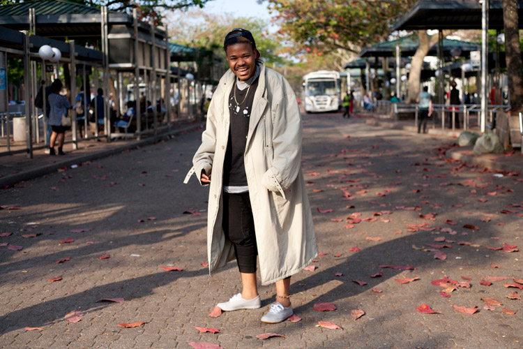 """You can be colourful without wearing colour!"" – Mafa Khuzwayo"