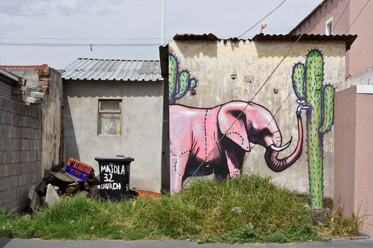 Artwork by Falko One. Langa, Cape Town
